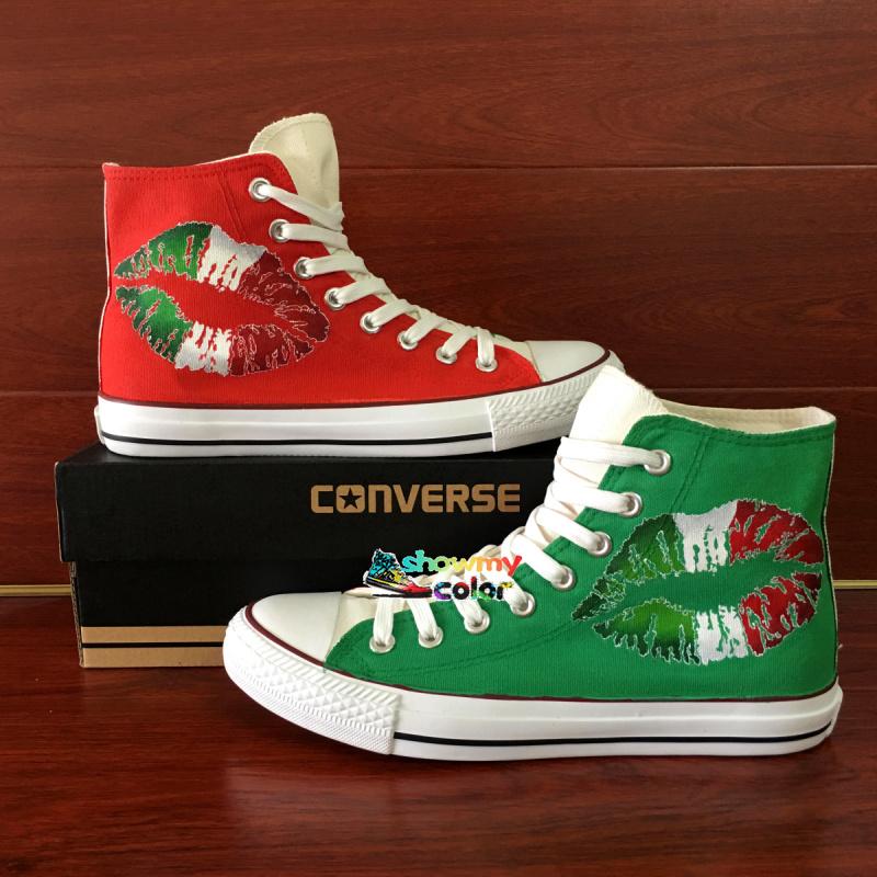 5cc9a712ac15c Personnalisés Australie Akileos Peints Converse Chaussures 6q4Xgg