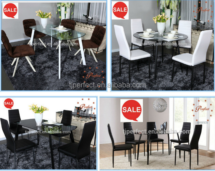 Modern Kitchen Table Furniture Tempered Glass Dining Table Malaysia Dining  Table