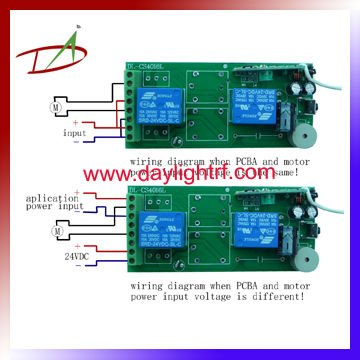 wiring diagram: wireless remote control 12v dc reversing relay
