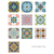 TS001Mediterranean Vinyl Oil Proof Removable Wall Sticker Tile Adhesive
