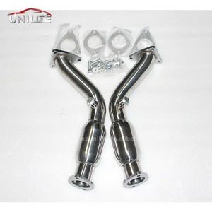 Exhaust Downpipes stainless for 2007 Infiniti G35/350Z Coupe 16 370Z G37 VQ37HR VQ35HR