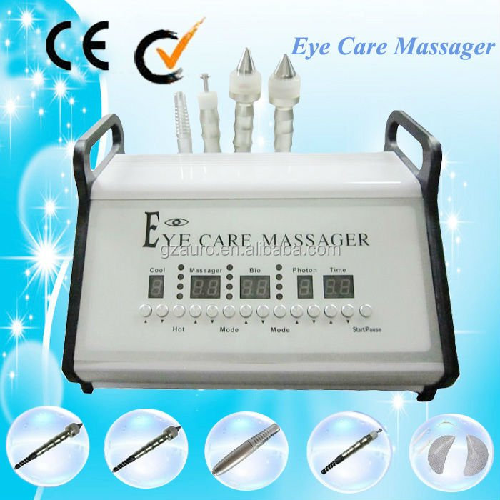 Au-433 microcurrent ultrasonic and bio eye massage used facial equipment for sale