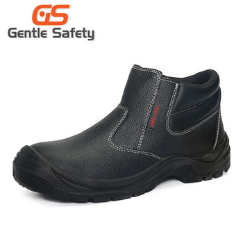 Gt0320 Leather Steel Toe Safety Shoes