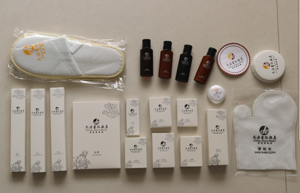 customized high quality hotel amenities products
