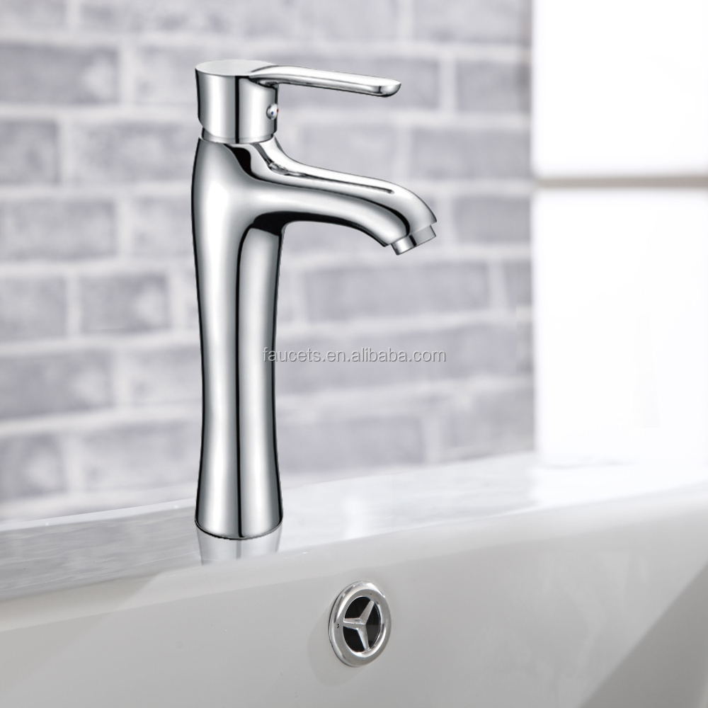 Deck Mounted Single Hole Lavatory Wash Basin Faucet