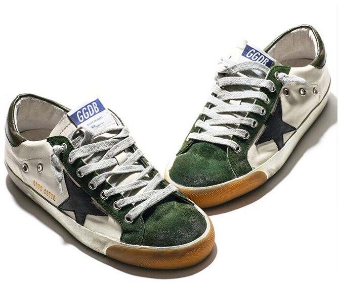 57ee2b8ed555 Buy Luxury brands GGDB Shoes Golden Goose sneakers star genuine leather  Casual shoe Italian Do old style men women shoes size 34-46 in Cheap Price  on ...