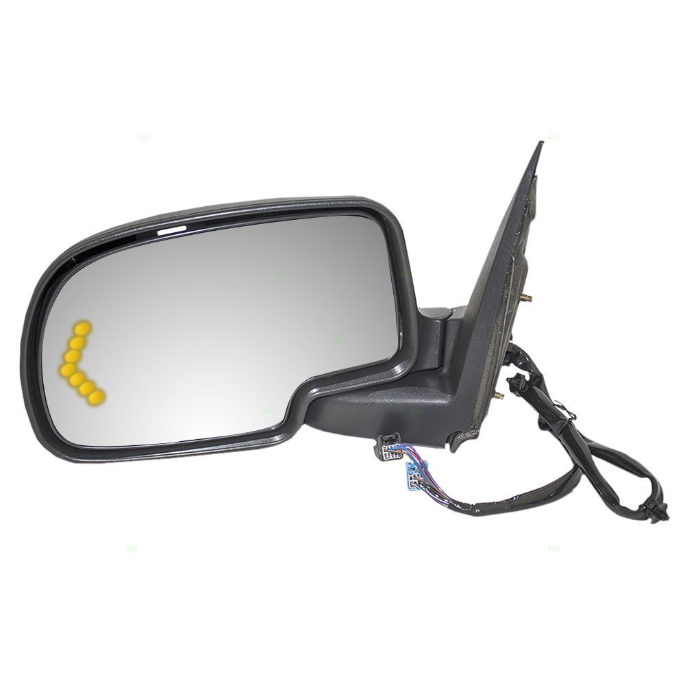 Drivers Power Side View Mirror Heated Signal Memory Auto Dim Power Folding Replacement for Chevrolet Cadillac GMC Pickup Truck SUV 15124830