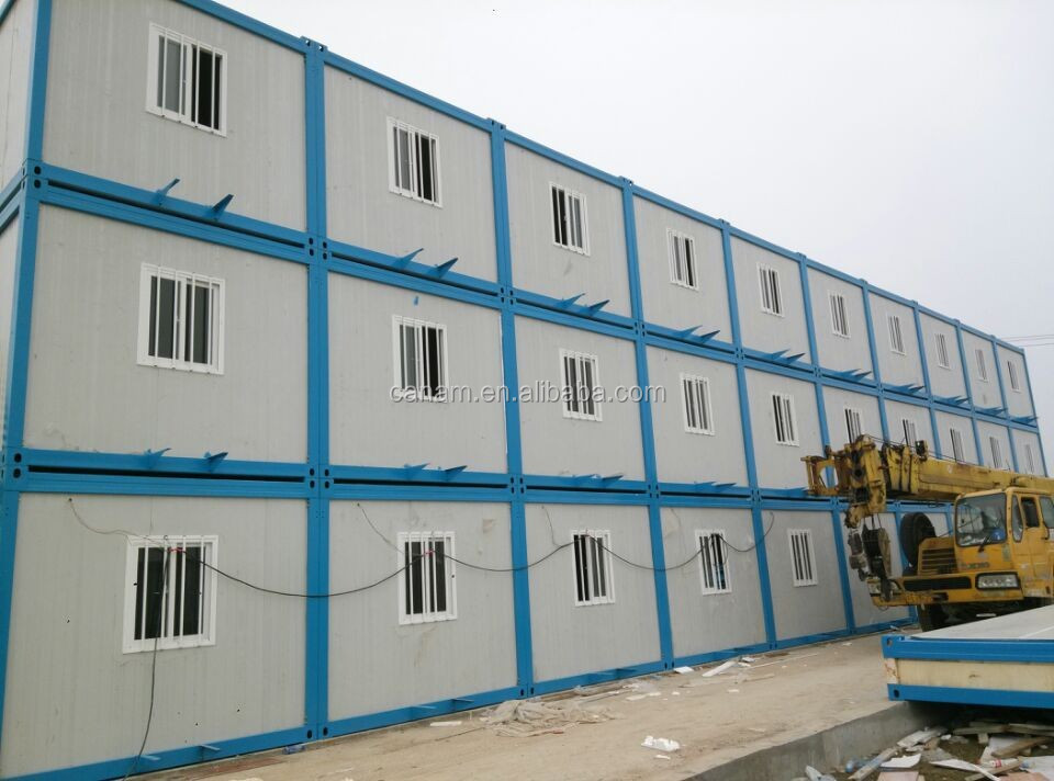 light steel Frame Multipurpose Comfortable Office Modular Container Building