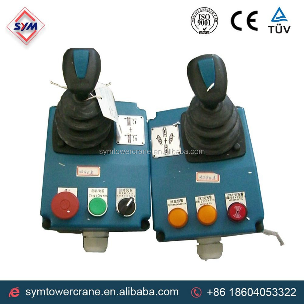 China Machinery Tower Crane Spare Parts Control Lever And Tower ...