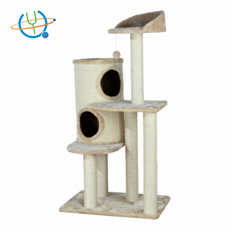 Factory Cat Tree House Furniture for Cats and Kittens With Deluxe Playground