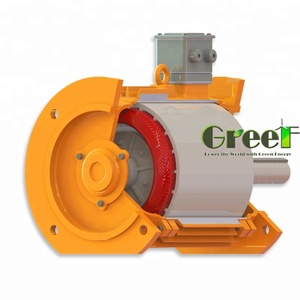 3.2MW 400RPM low RPM direct-drive brushless synchronous generator for off-grid wind power generator system