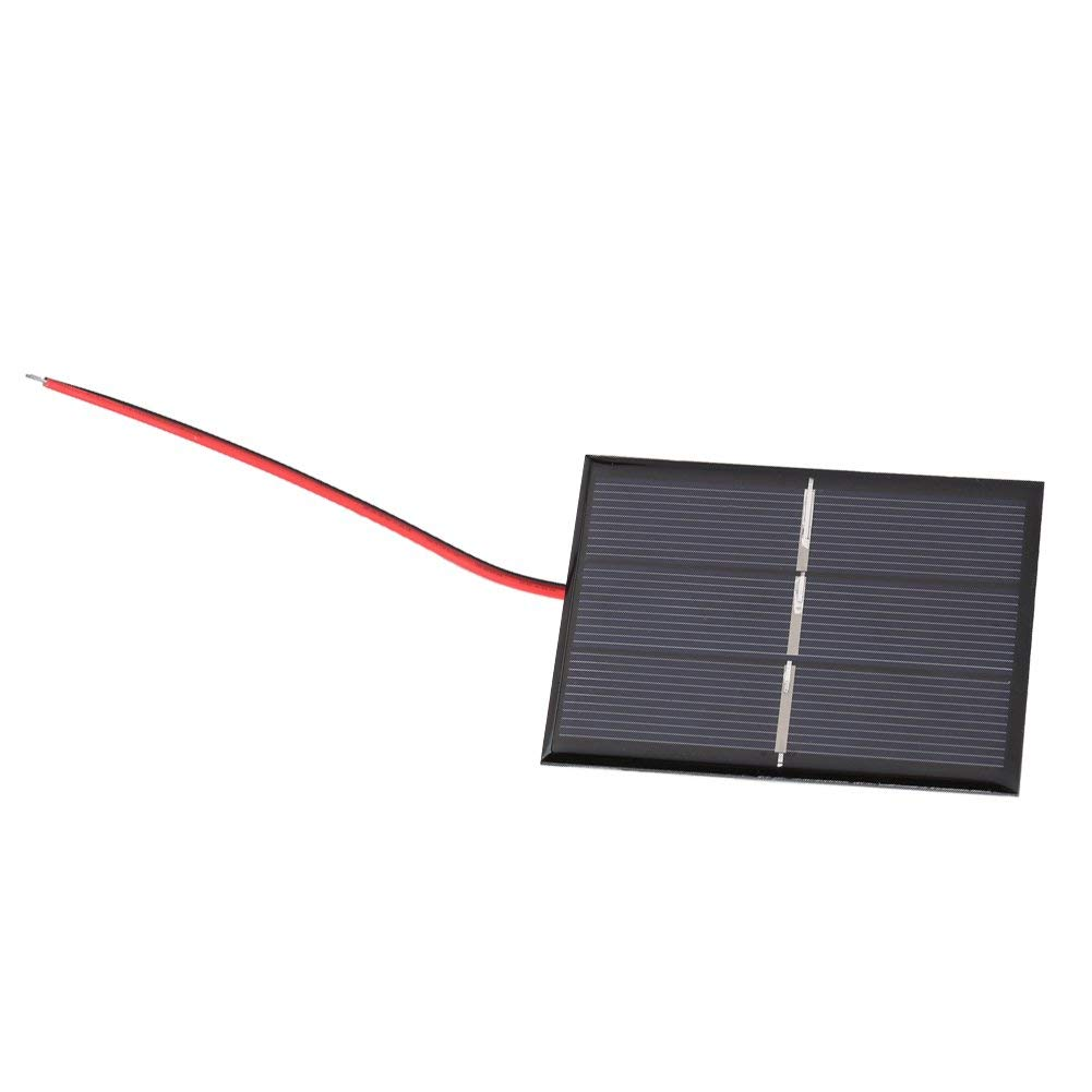 Yosooo Mini Portable Solar Panel DIY Power Module Battery Charger Module Clip Emergency lights 0.65W 1.5V 2pcs
