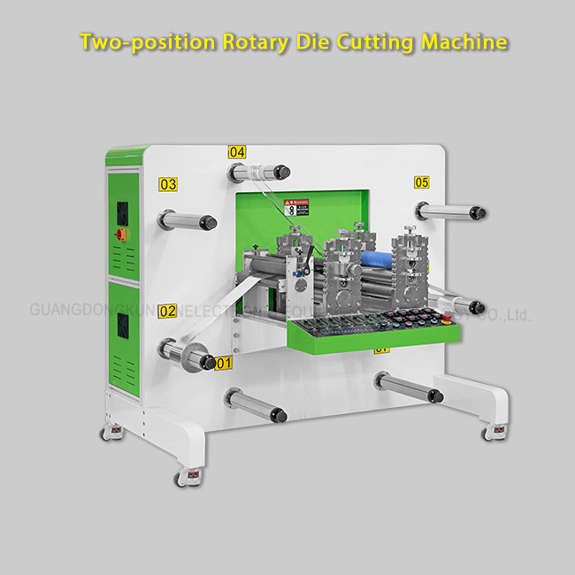 Auto Rotary Die Cutting Machine For OPP, PP, PET, PE, PVC