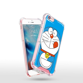 New Products reliable air cushion custom printed case for iphone 6 case clear cute beautiful
