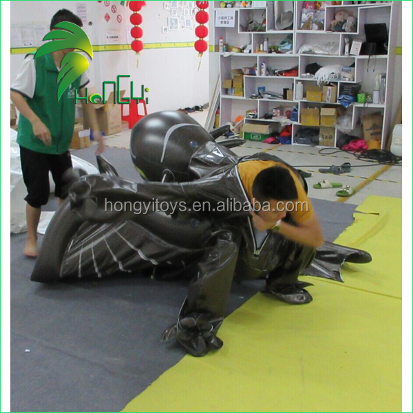 Amazing Double Pvc Layer Inflatable Toothless Dragon