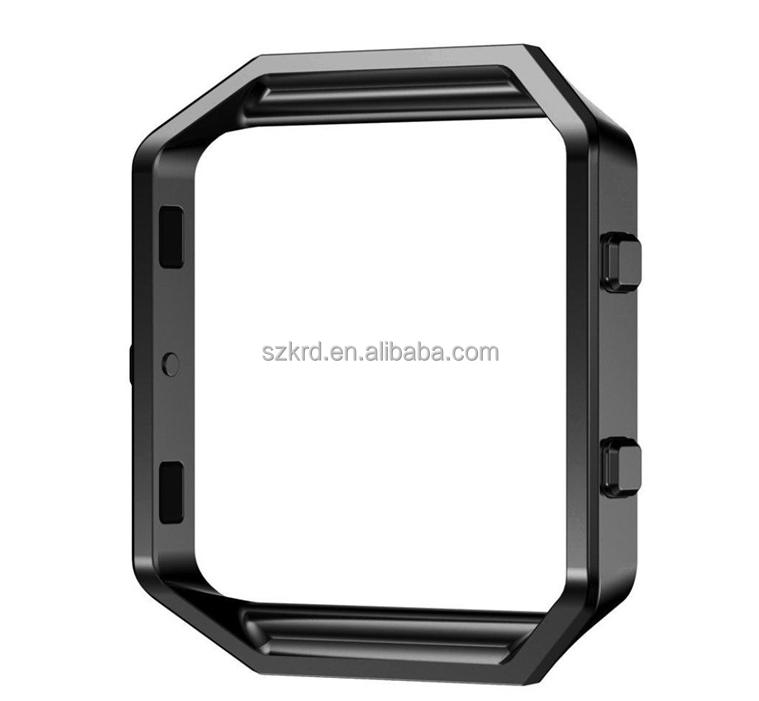 11 Colors Metal Stainless Steel Watch Frame Replacement For Fitbit Blaze Smart Watch Accessories