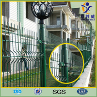Vinyl Coated Wire Mesh Fence