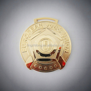 Good quality custom made gold silver copper metal medals trophy