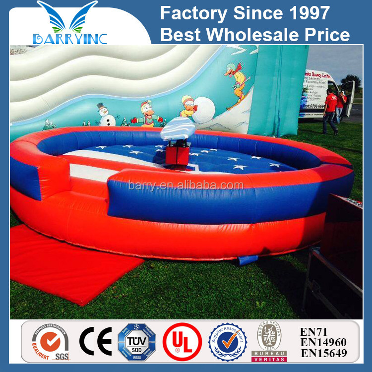2013 hot sale inflatable mechanical surfing simulators/ rodeo surf sport game