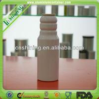 Aluminium Aerosol Spray Can with valve actuator and lids