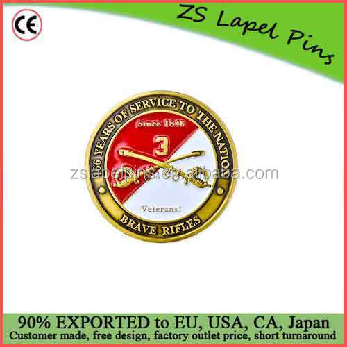 Free digital proof design cheap custom challenge coins