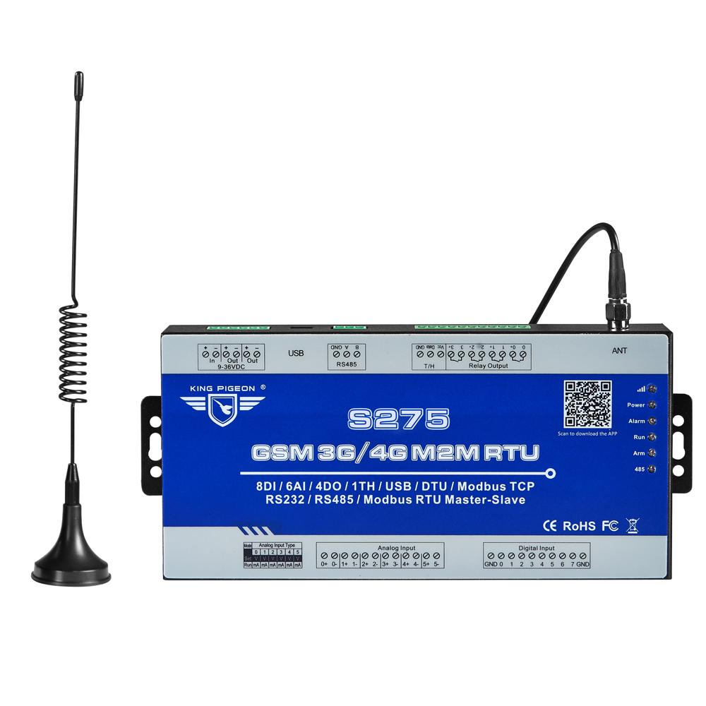 S275 Great IoTและบริการCellular IoT Modbus RTU Gatewayสำหรับอุตสาหกรรมอัตโนมัติและระบบตรวจสอบความปลอดภัย