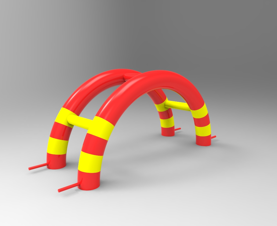 Blow up inflatable arch gate for sport event advertising