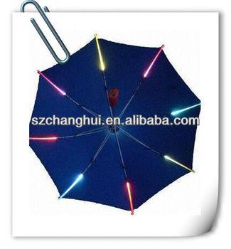 Automatic Open Fashion Children Led Umbrella Light With Remote Control