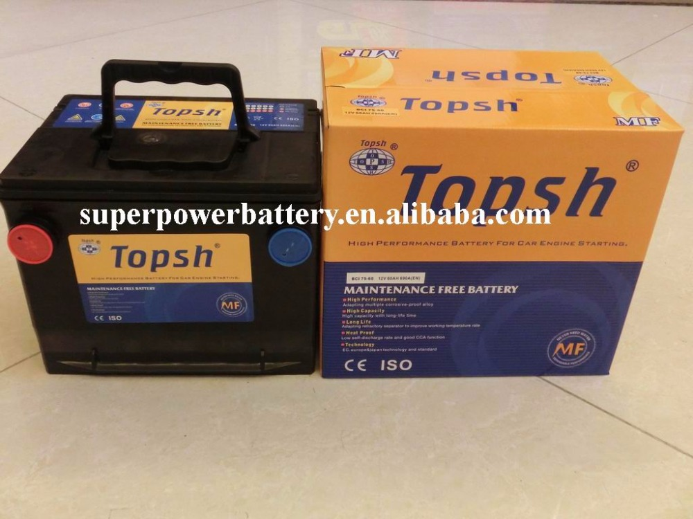 USA BUICK BATTERY BCI 75-60