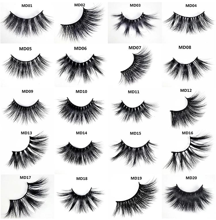 Free sample private label eyelash mink vendor,5d mink fur false lashes ,25mm 3D Mink Eyelashes with packing box