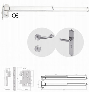 CE Mortise Lockset with Anti Panic Exit Devise