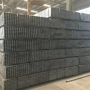 diameter 40*50mm galvanized rectangular hollow tube