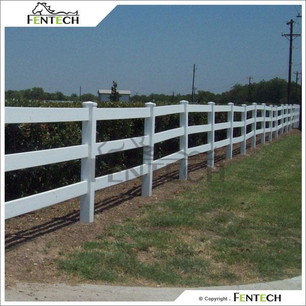 Farm Fence White. White Vinyl Farm Fence D - Activavida.co