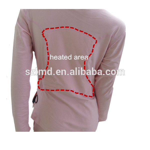 Rechargeable Battery Heated Long Underwear Long Johns Thermal ...