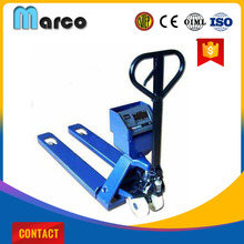 Weighing scale 2.5 ton hand pallet truck