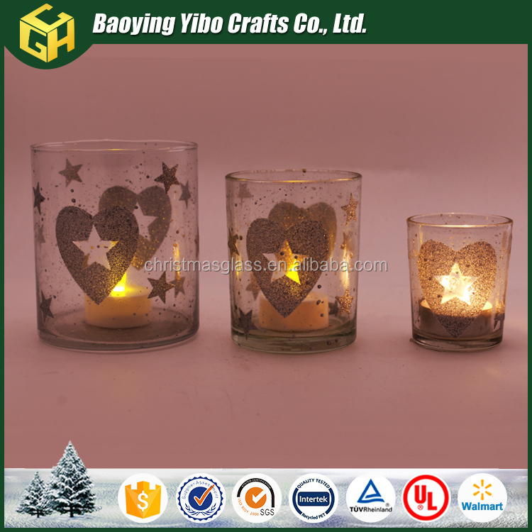 Canada decorative replacement glass tea light candle holder
