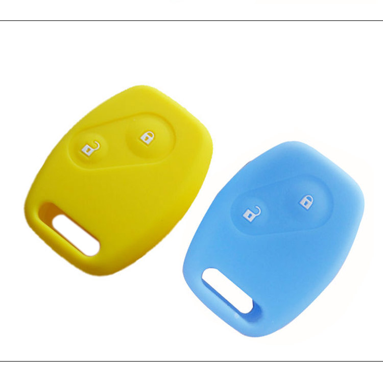 AS062002 2 Button Car key silicone shell cover for Honda