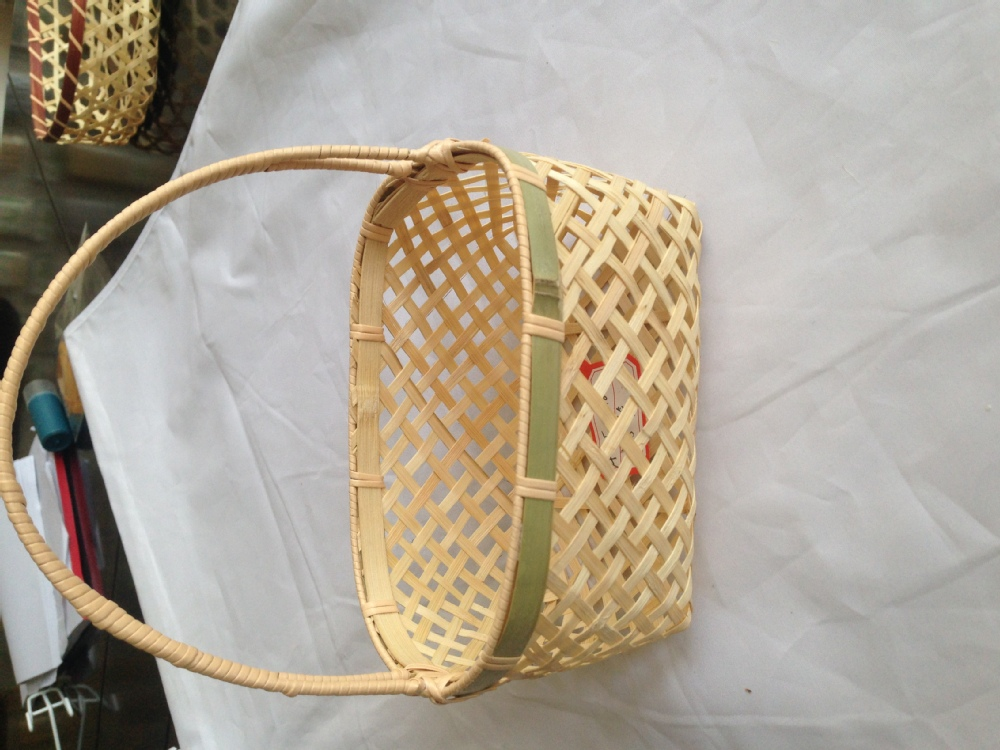 Basket Weaving With Bamboo : Flat bamboo weaving sieve sets basket buy