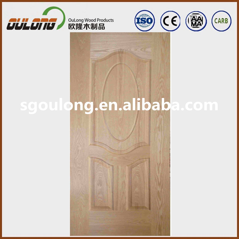 12MM Deep Groove Model Widely Used In Apartment Inside Door Cassin Siamea MDF HDF Door