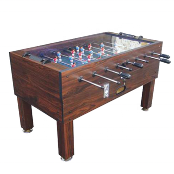 Hot Sale Foosball Table Football Game Coin Operated Soccer Table With Glass