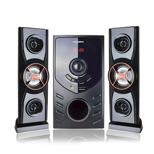 High quality professional 2.1 speaker used home theater system with usb and amplifier