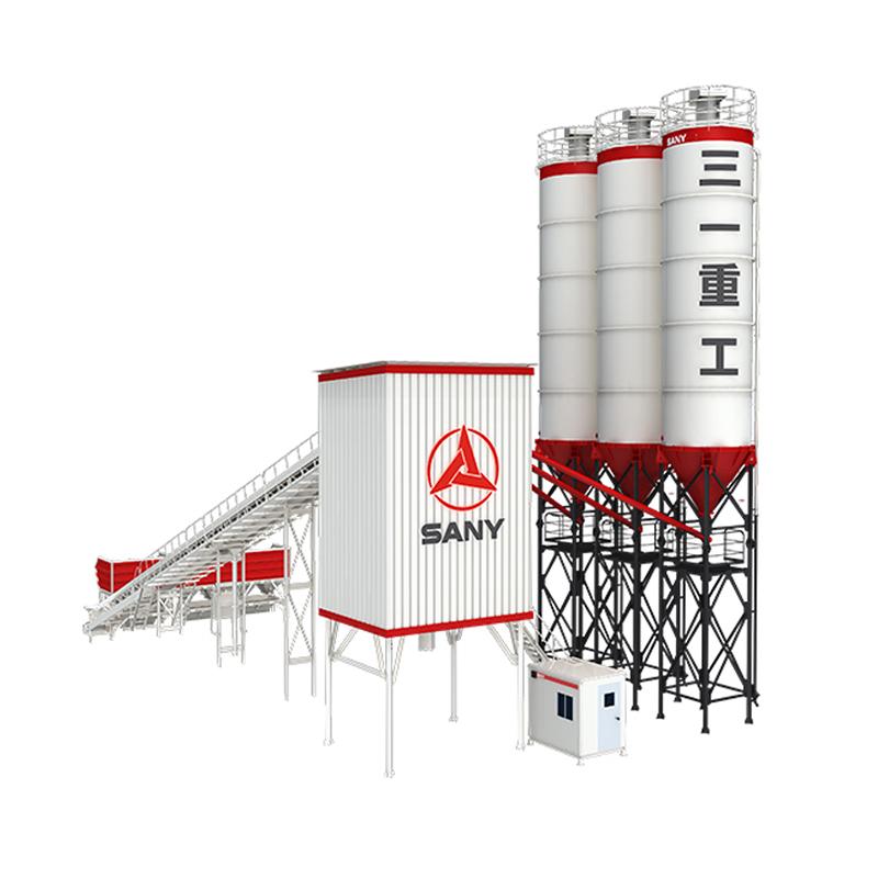 SANY nuevo 50m3/h de cemento planta dosificadora de HZS60V8