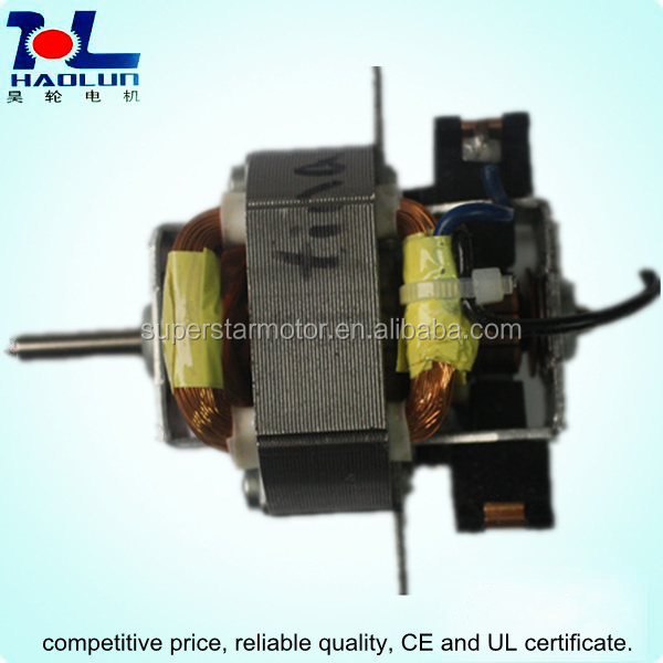 5420 ac universal motor for hair/hand dryer