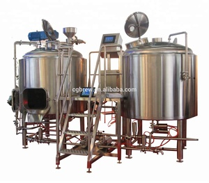 7 bbl micro brewery equipment with complete beer brewing system