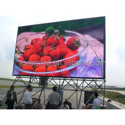 P12 full color outdoor oled display