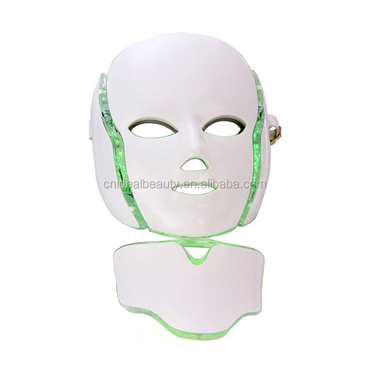 7 color LED light therapy led skin rejuvenation mask (F009B)