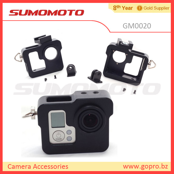 Perfectly match GoPro HD Hero3 Standard Frame, Protective Frame Housing for Hero3 Only buy gopro