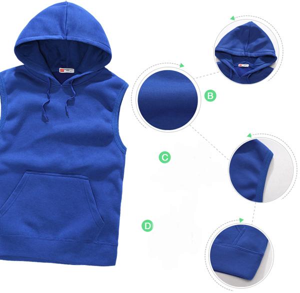 Dry Fit Sweatshirt Hip Hop Hoodies Wholesale Plain Zip Hoodies ...