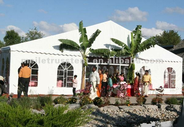 2012 tradeshow outdoor white marque wedding event tent passed CE certificate