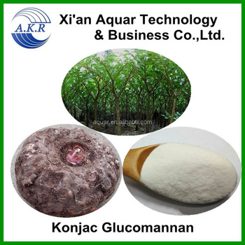 manufacturing natural Glucomannan extract konjac powder and rice